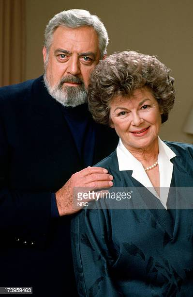 MASON The Case of the Lost Love Pictured Raymond Burr as Perry Mason Barbara Hale as Della Street