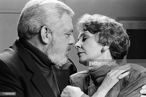 MASON The Case of the Lost Love Pictured Raymond Burr as Perry Mason Jean Simmons as Laura Robertson
