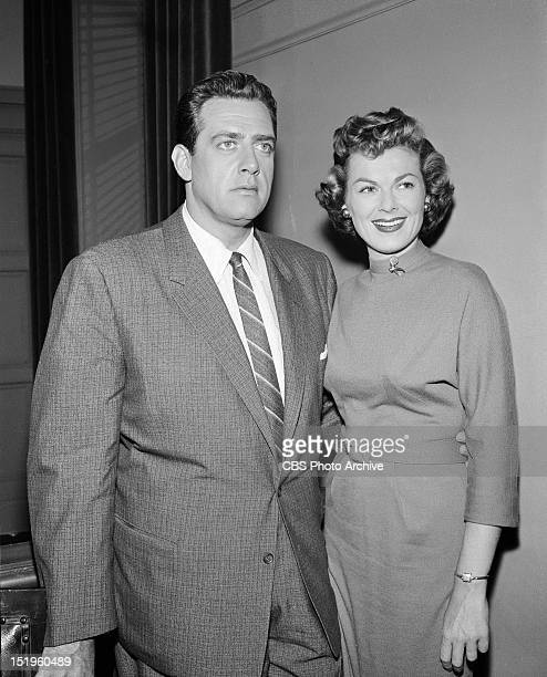 MASON The Case of the Runaway Corpse Perry Mason and Della Street Image dated August 9 1957