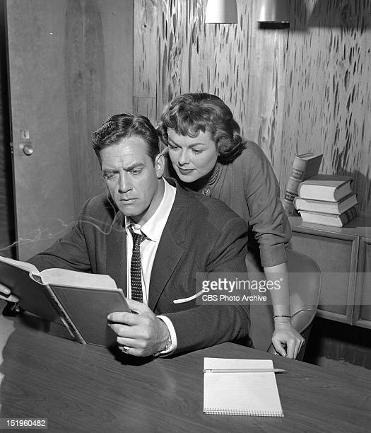 MASON The Case of the Sulky Girl Perry Mason and Della Street Image dated June 6 1957