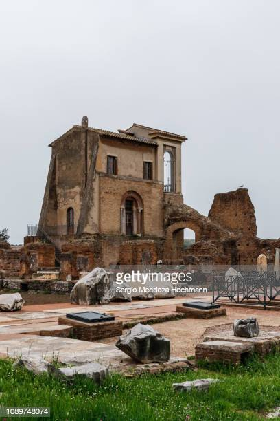 The Casina Farnese in Palatine Hill - Rome, Italy