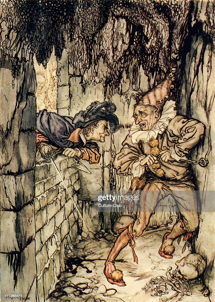 The Cask of Amontillado' by Edgar Allan Poe : News Photo