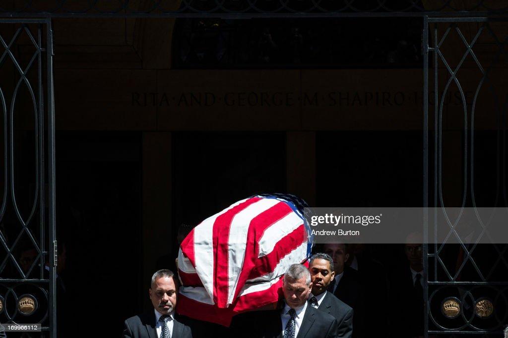 Funeral For Frank Lautenberg Held In New York City