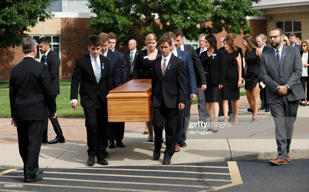 Funeral Held For Otto Warmbier Who Was Detained By N. Korea For Over A Year : News Photo