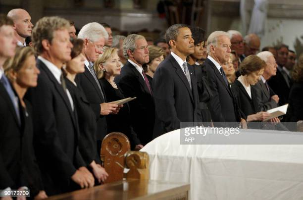Senator Edward Kenedy Casket: Kara Kennedy Funeral Stock Photos And Pictures