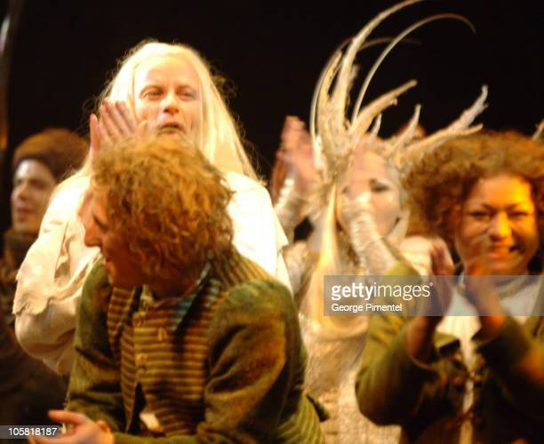 The Cast and Characters of The Lord of the Rings during The Lord of the Rings on stage World Premiere in Toronto March 23 2006 at Princess of Wales...