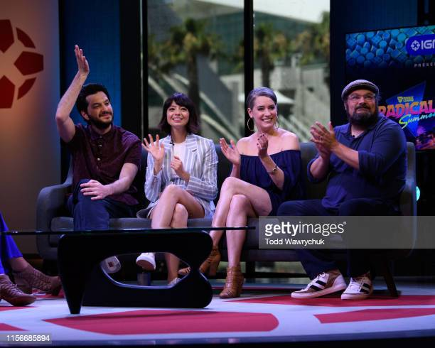 DUCKTALES The cast and creative team of Disney Channel's DuckTales flocked to San Diego ComicCon on Friday July 19 2019 MOYNIHAN