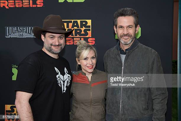 REBELS The cast and creative team of Disney XD's popular animated saga Star Wars Rebels attend a screening of the highly anticipated season two...