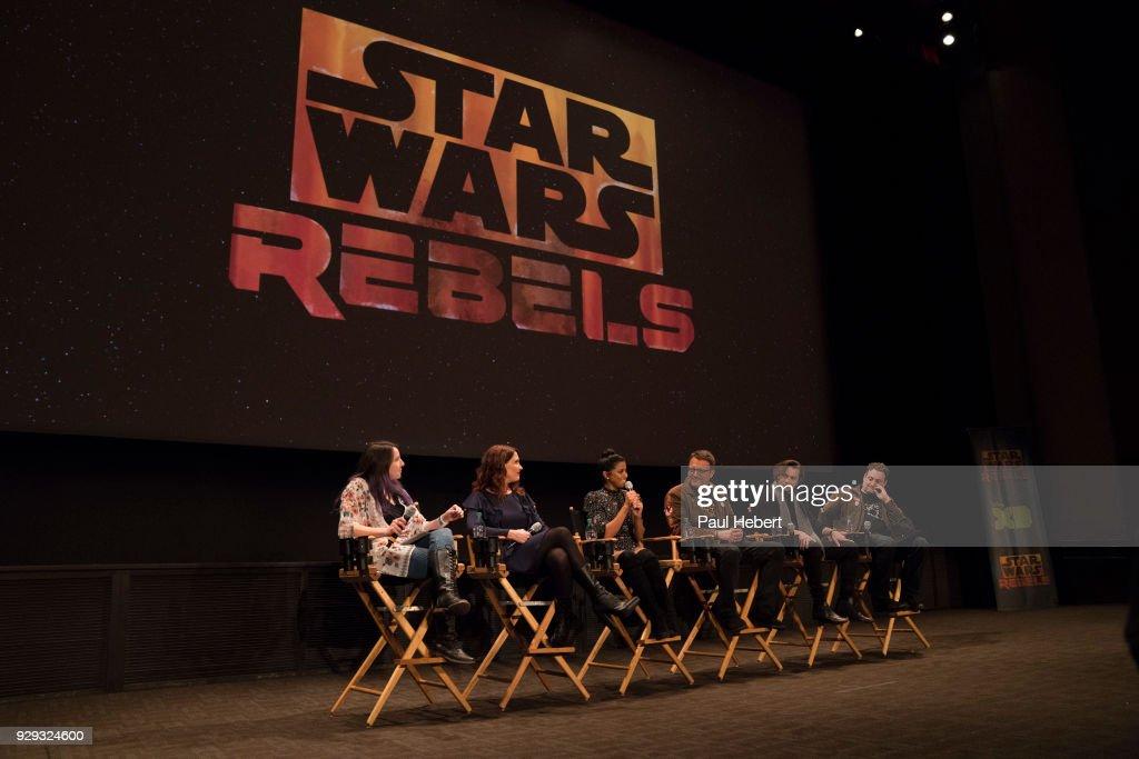 "Disney XD's ""Star Wars Rebels"" - Season Four : News Photo"