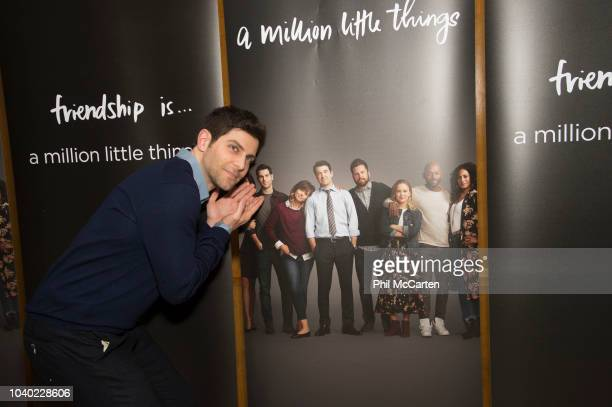 THINGS The cast and creator of Walt Disney Television via Getty Images's A Million Little Things celebrated the upcoming series premiere with an...