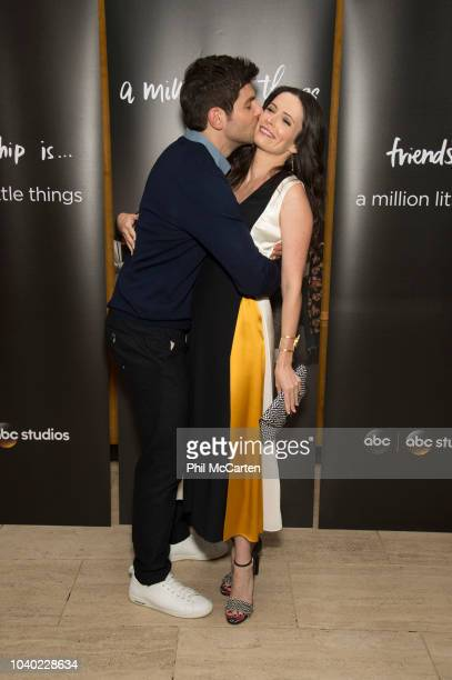 THINGS The cast and creator of ABC's 'A Million Little Things' celebrated the upcoming series premiere with an exclusive screening and panel at the...