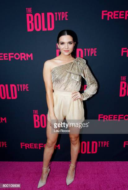TYPE The cast and creators of Freeform's new original series The Bold Type come together for a premiere screening and panel at The Roxy Hotel in New...