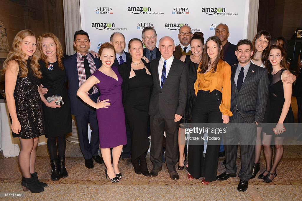 The Cast And Crew Attend Amazon Studios Premiere Screening For U0027Alpha Houseu0027  On November