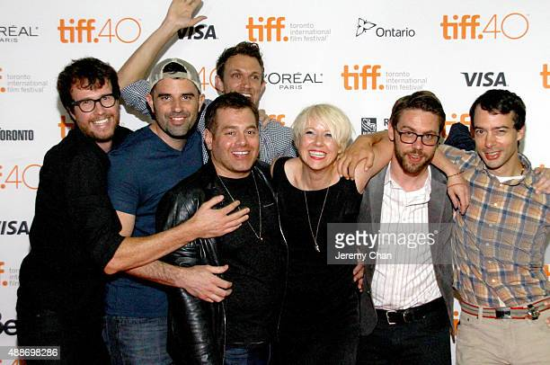 The cast and crew attend attend the 'Southbound' photo call during the 2015 Toronto International Film Festival at Ryerson Theatre on September 16...