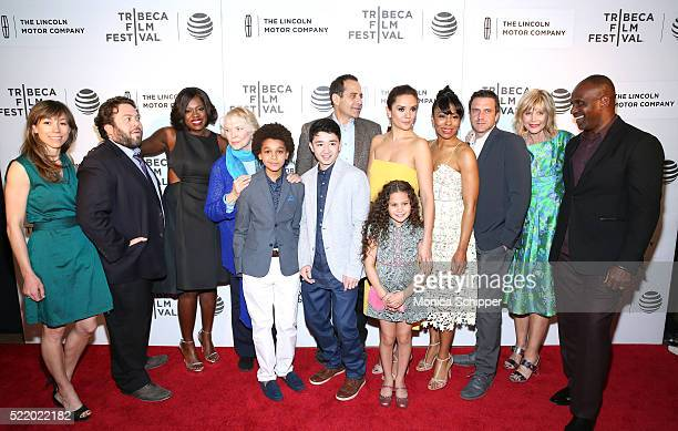 The cast and crew attend the Custody Premiere 2016 Tribeca Film Festival at BMCC John Zuccotti Theater on April 17 2016 in New York City