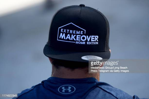 The cast and crew of Extreme Makeover Home Edition before surprising the Fifita family in Hawthorne on Thursday September 12 2019 The show took a...