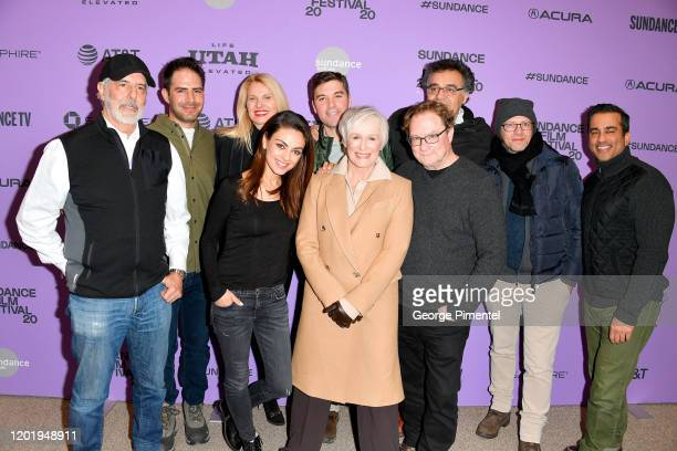The cast and crew of Four Good Days attends the 2020 Sundance Film Festival Four Good Days Premiere at Eccles Center Theatre on January 25 2020 in...