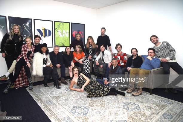 The cast and crew of Horse Girl attends the Netflix Horse Girl Premiere at The Ray on January 27 2020 in Park City Utah