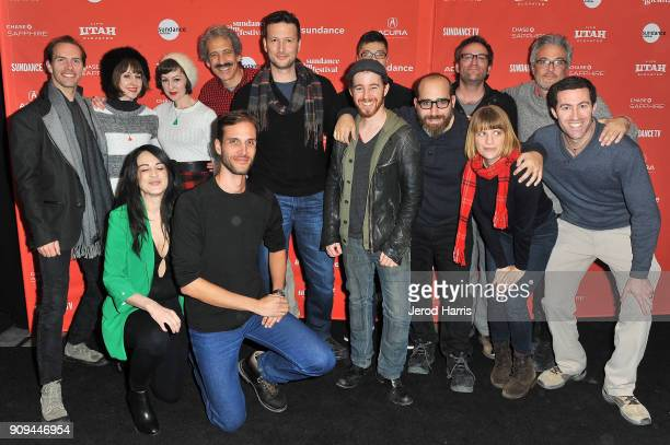 The cast and crew of Mortified Guide attend the Indie Episodic Program 2 during the 2018 Sundance Film Festival at Park Avenue Theater on January 23...