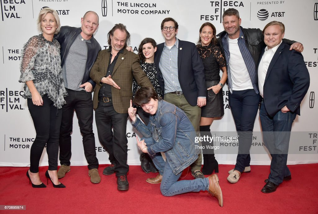 The cast and crew of 'Psychopaths' 'attend the 'Psychopaths' Premiere during 2017 Tribeca Film Festival at Cinepolis Chelsea on April 20, 2017 in New York City.