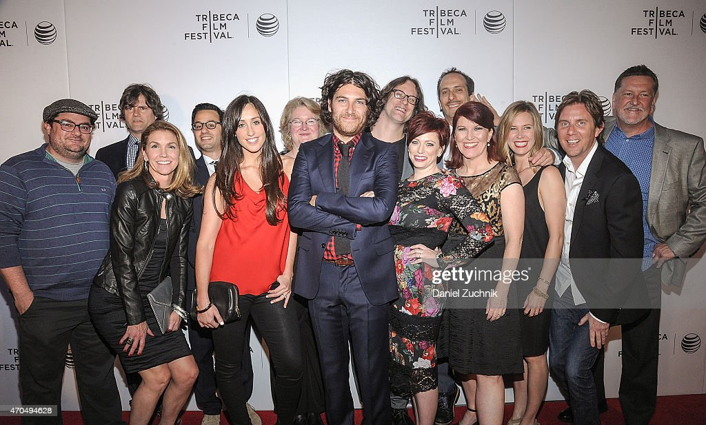 The cast and crew of 'Slow Learners' attend the 2015 Tribeca Film Festival - World Premiere Narrative: 'Slow Learners' at Regal Battery Park 11 on April 20, 2015 in New York City.