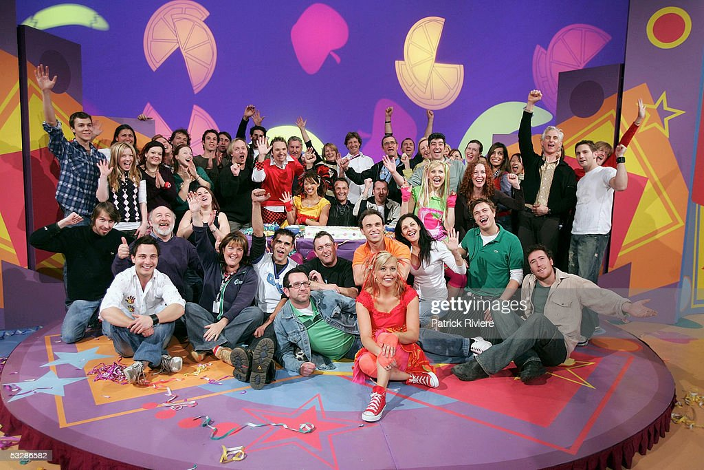 The cast and crew of the children's television show