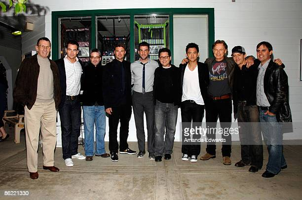 The cast and crew of the new 'Star Trek' movie attend the 19th Annual 'Hollywood Charity Horse Show' at the Los Angeles Equestrian Center on April 25...