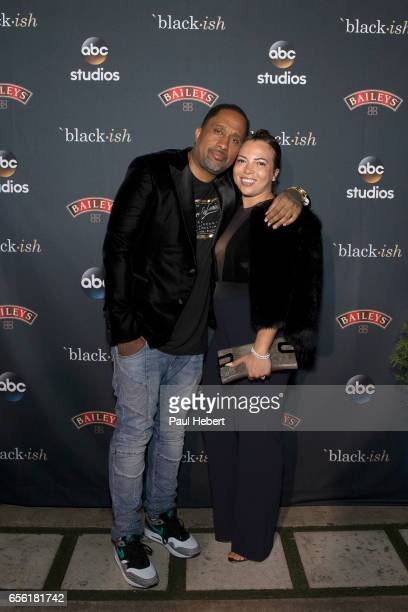 ISH The cast and crew of Walt Disney Television via Getty Images's critically acclaimed hit comedy blackish celebrate the end of season three at a...