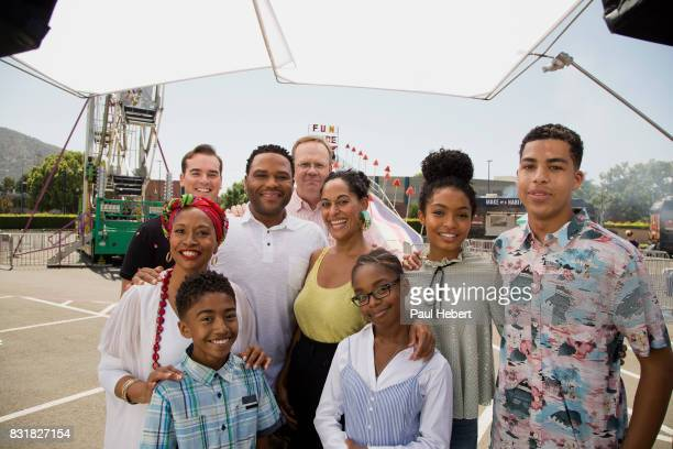 ISH The cast and crew of Walt Disney Television via Getty Images's critically acclaimed hit comedy blackish celebrates the beginning of production...