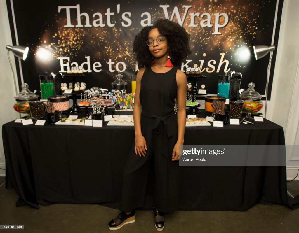 ISH - The cast and crew of ABC's critically acclaimed hit comedy 'black-ish' celebrate the end of season four at a wrap party on Tuesday, March 13 at Boulevard 3 in Los Angeles. 'black-ish' airs Tuesdays at 9:00 p.m. ET/PT on ABC. MARSAI