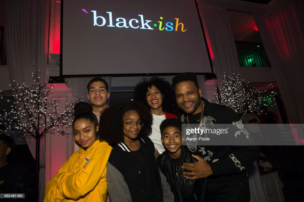 ISH - The cast and crew of ABC's critically acclaimed hit comedy 'black-ish' celebrate the end of season four at a wrap party on Tuesday, March 13 at Boulevard 3 in Los Angeles. 'black-ish' airs Tuesdays at 9:00 p.m. ET/PT on ABC. YARA