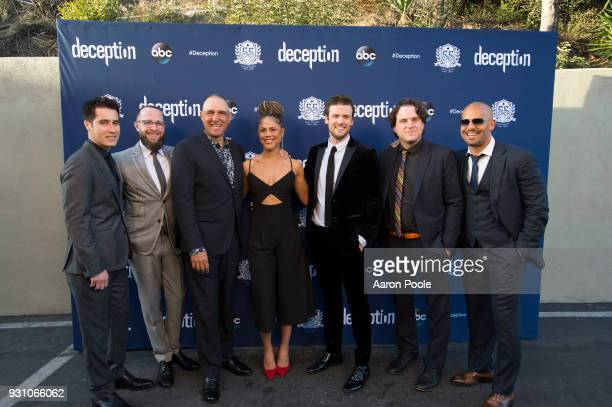 DECEPTION The cast and crew of ABC's 'Deception' visits The Magic Castle in Los Angeles CA 'Deception' premieres SUNDAY MARCH 11 on The ABC...