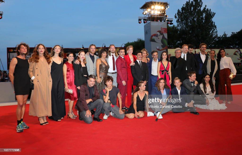 ITA: Capri-Revolution Red Carpet Arrivals - 75th Venice Film Festival