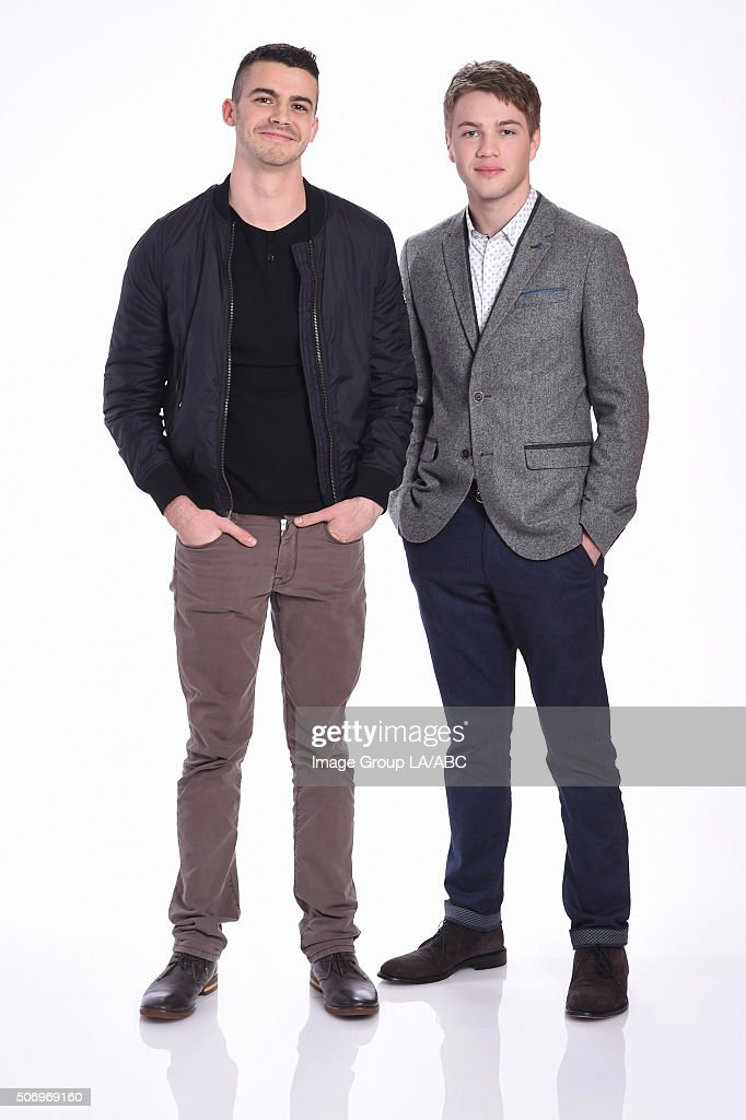 ABC Portraits - TCA Winter Press Tour 2016 : News Photo