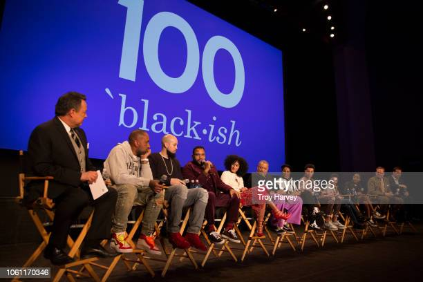 ISH The cast and executive producers of ABC's critically acclaimed hit comedy 'blackish' celebrates the 100th episode a tribute to musical icon...