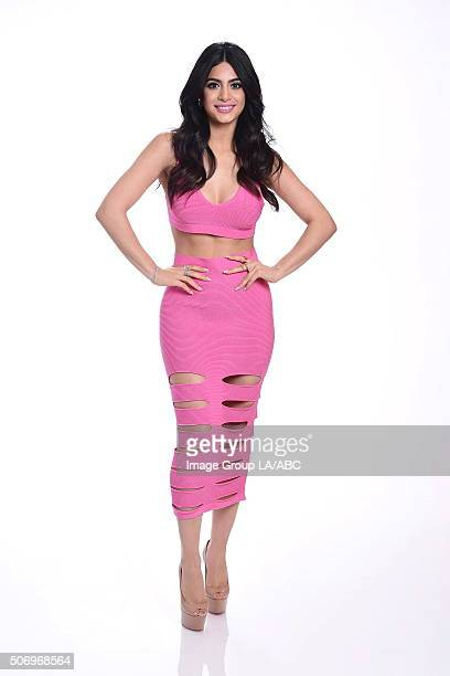 TOUR 2016 The cast and executive producers of Freefrom series graced the carpet at Disney | ABC Television Group's Winter Press Tour 2016 EMERAUDE