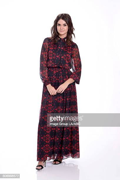 TOUR 2016 The cast and executive producers of Freefrom series graced the carpet at Disney | ABC Television Group's Winter Press Tour 2016 MAIA