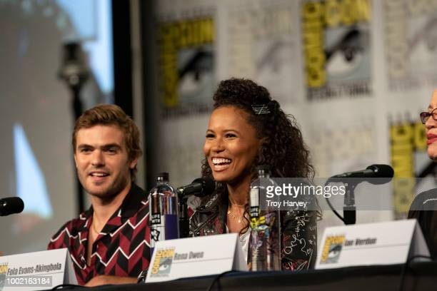 The cast and executive producers of Freeforms fan favorite mermaid drama series, Siren attend 2018 San Diego Comic-Con. ALEX ROE, FOLA EVANS-AKINGBOLA