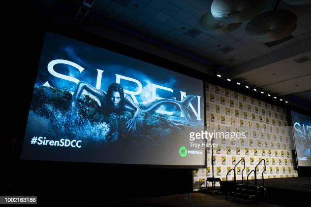 The cast and executive producers of Freeforms fan favorite mermaid drama series, Siren attend 2018 San Diego Comic-Con.