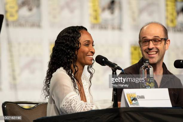 The cast and executive producers of Freeforms fan favorite mermaid drama series, Siren attend 2018 San Diego Comic-Con. CHILLI, ERIC WALD