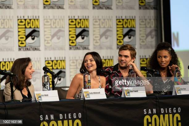 SIREN The cast and executive producers of Freeforms fan favorite mermaid drama series Siren attend 2018 San Diego ComicCon ELINE