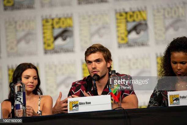 The cast and executive producers of Freeforms fan favorite mermaid drama series, Siren attend 2018 San Diego Comic-Con. ELINE POWELL, ALEX ROE, FOLA...