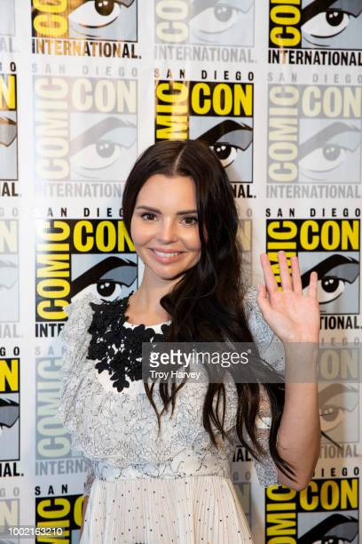 SIREN The cast and executive producers of Freeforms fan favorite mermaid drama series Siren attend 2018 San Diego ComicCon POWELL