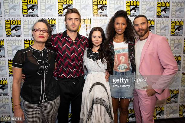 SIREN The cast and executive producers of Freeforms fan favorite mermaid drama series Siren attend 2018 San Diego ComicCon VERDUN