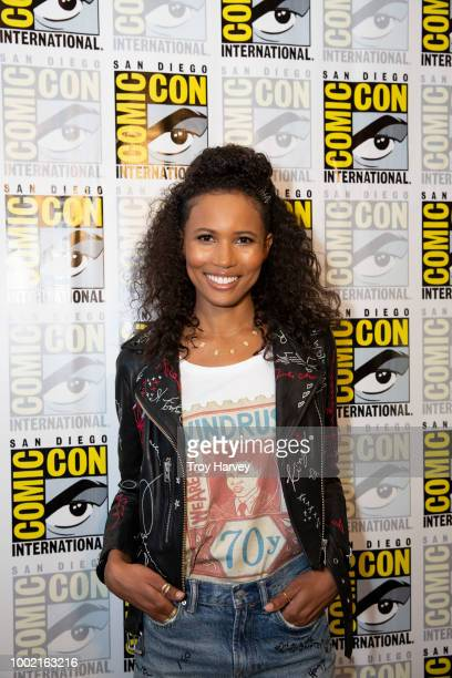 SIREN The cast and executive producers of Freeforms fan favorite mermaid drama series Siren attend 2018 San Diego ComicCon AKINGBOLA