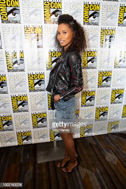 The cast and executive producers of Freeforms fan favorite mermaid drama series, Siren attend 2018 San Diego Comic-Con. FOLA EVANS-AKINGBOLA