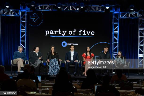 "The cast and executive producers of Freeforms ""Party of Five"" gave the press at the 2019 TCA Winter Press Tour an exclusive first look at the new..."