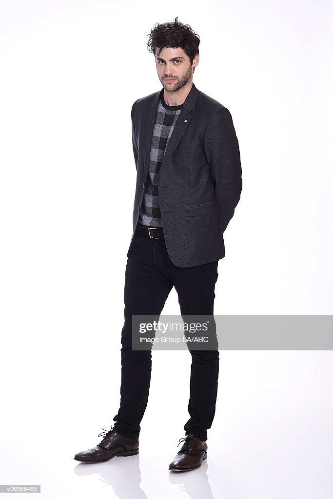 ABC Portraits - TCA Winter Press Tour 2016 : News Photo