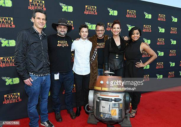 REBELS The cast and executive producers of 'Star Wars Rebels' gave fans at Star Wars Celebration the first screening of its highly anticipated season...
