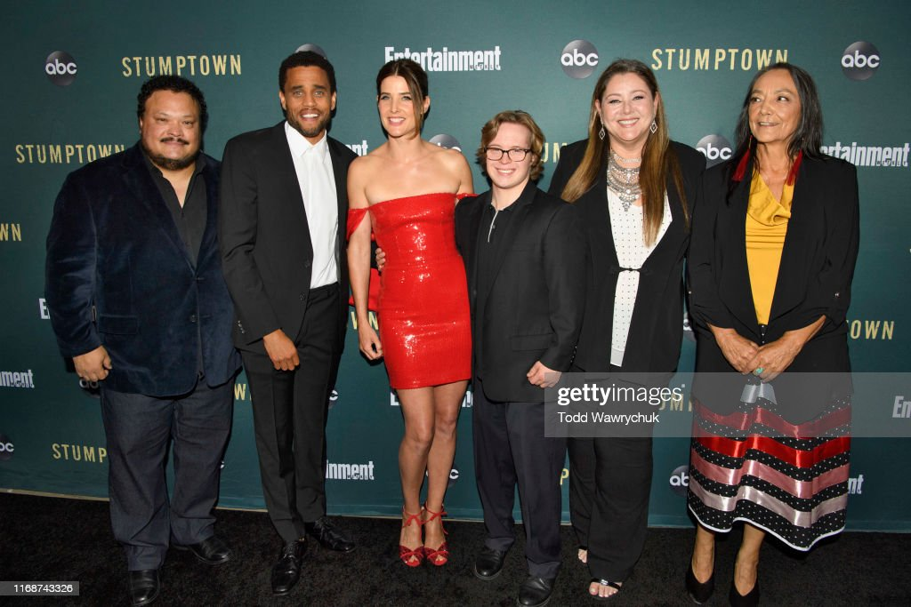 Stumptown The Cast And Executive Producers Of Stumptown Celebrate News Photo Getty Images